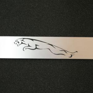 Schmuckschild Jaguar