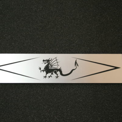 Schmuckschild Drachen