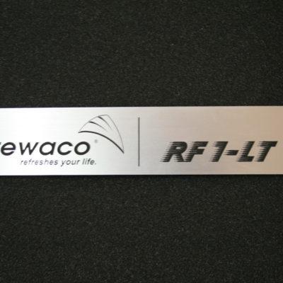 Schmuckschild RF1 LT