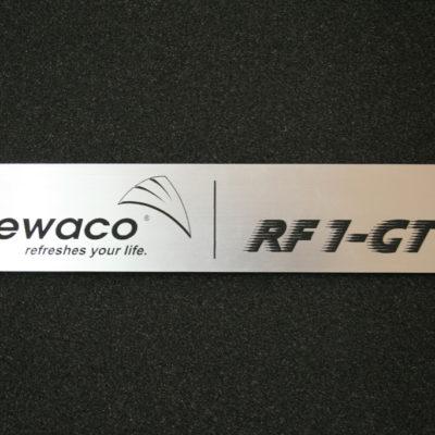 Schmuckschild RF1 GT