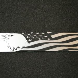 Schmuckschild Adler/US-Flagge