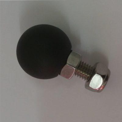 Kugel (schwarz) für Navi-Instrumentenhalter